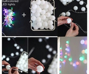 diy, Easy, and lights image