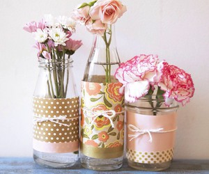 flowers, diy, and do it yourself image