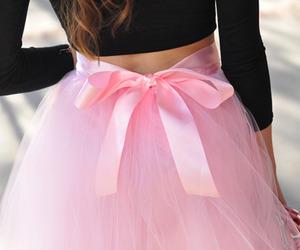skirt, fashion, and bow image