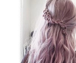hair, purple, and debby ryan image