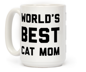 cat lover, cat mug, and cat gifts image