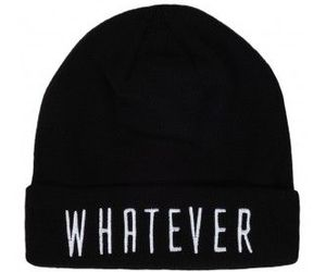 beanie, black, and whatever image