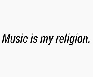 music, quotes, and religion image
