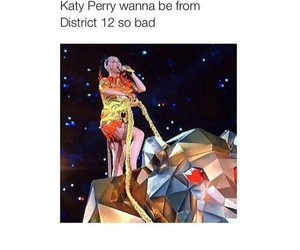 hunger games, katy perry, and district 12 image