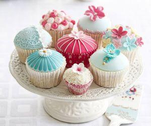 sweet, cupcake, and pastel image