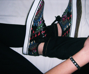 sneakers, teen, and vans image