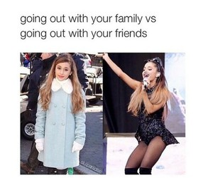 ariana grande, friends, and funny image