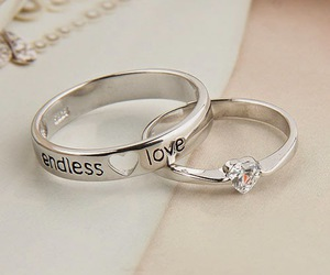 love, ring, and rings image