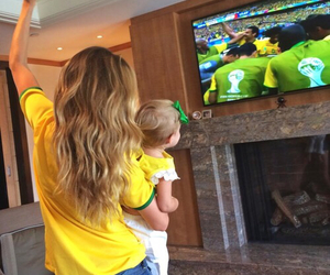 baby, brazil, and goals image