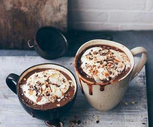 coffee, chocolate, and autumn image