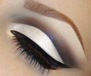 beautiful, eye makeup, and makeup image