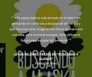 frases, john green, and looking for alaska image