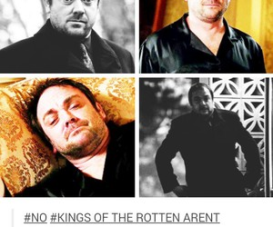 crowley, funny, and spn image
