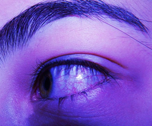 eye, grunge, and eyebrows image