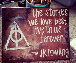 harry potter, quote, and story image
