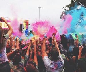 colors, festival, and fun image