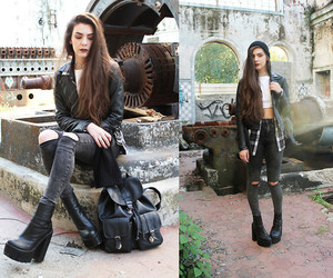 boots, grunge, and lookbook image