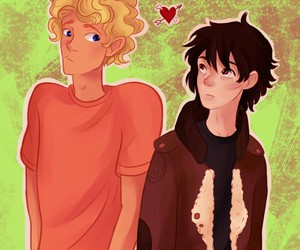 so cute, will solace, and nico di angelo image