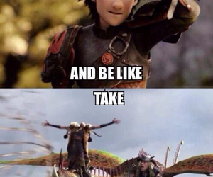 hiccup, funny, and how to train your dragon image