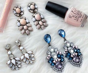 earrings, diamond, and accessories image