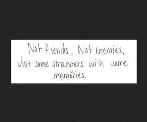memories, friends, and stranger image