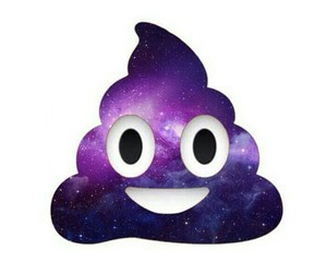 galaxy and emoji image