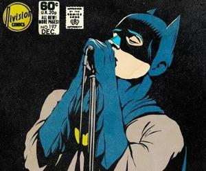 batman, ian curtis, and comic image