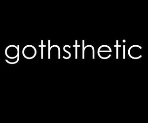 goth, gothic, and gothic style image