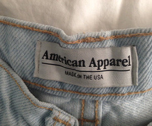 american apparel, jeans, and aesthetic image
