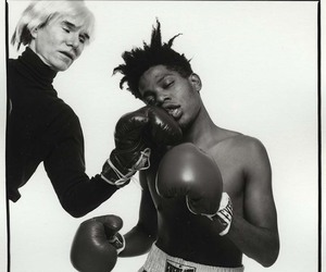 andy warhol and basquiat image