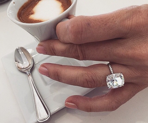 classy, diamond, and engagement ring image