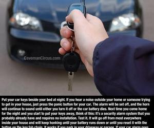 car, keys, and safety image