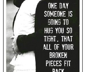 love, broken, and hug image