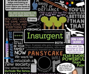 insurgent, book, and divergent image