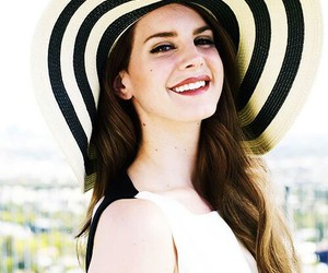 lana del rey, lana, and smile image