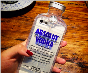 vodka, case, and iphone image