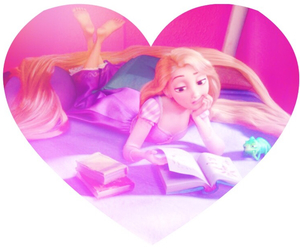heart, princess, and ピンク image