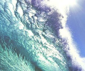 waves, beach, and photography image