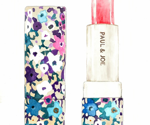 lipstick and floral image