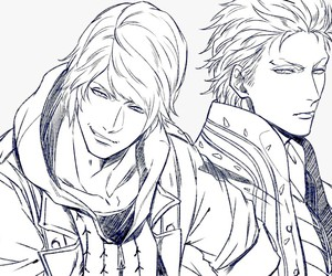 anime, devil may cry, and vergil image