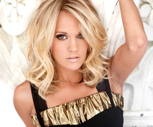 carrie underwood, blonde, and hair image
