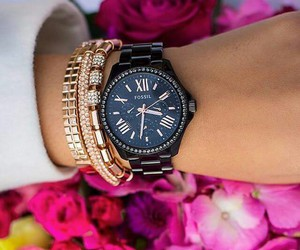 accessoires, fossil, and watch image