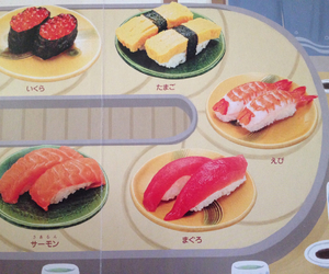 book, japan, and sushi image