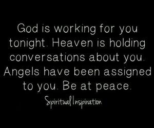 angels, sleep, and conversation image