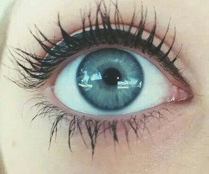 blue and eyes image