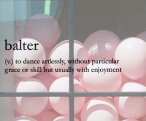 dance, love, and balter image