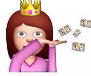 crown, funny, and money image