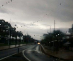 hipster, rain, and road image