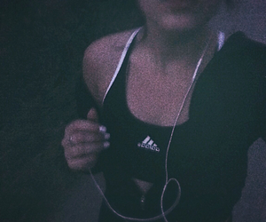 evening, fit, and girl image