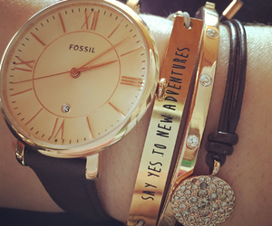 bracelets, fossil, and my image